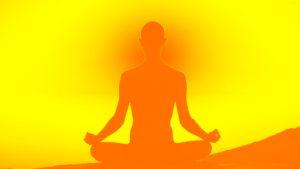 Meditation kann hilfreich sein, im Angesicht der globalen Probleme bei sich zu bleiben (Bildquelle: Philipp Wiebe / pixelio.de)