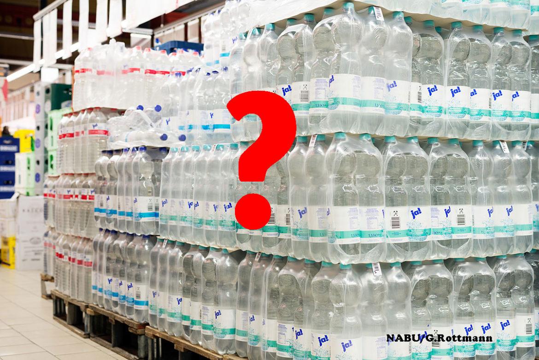 Einwegwasserflaschen