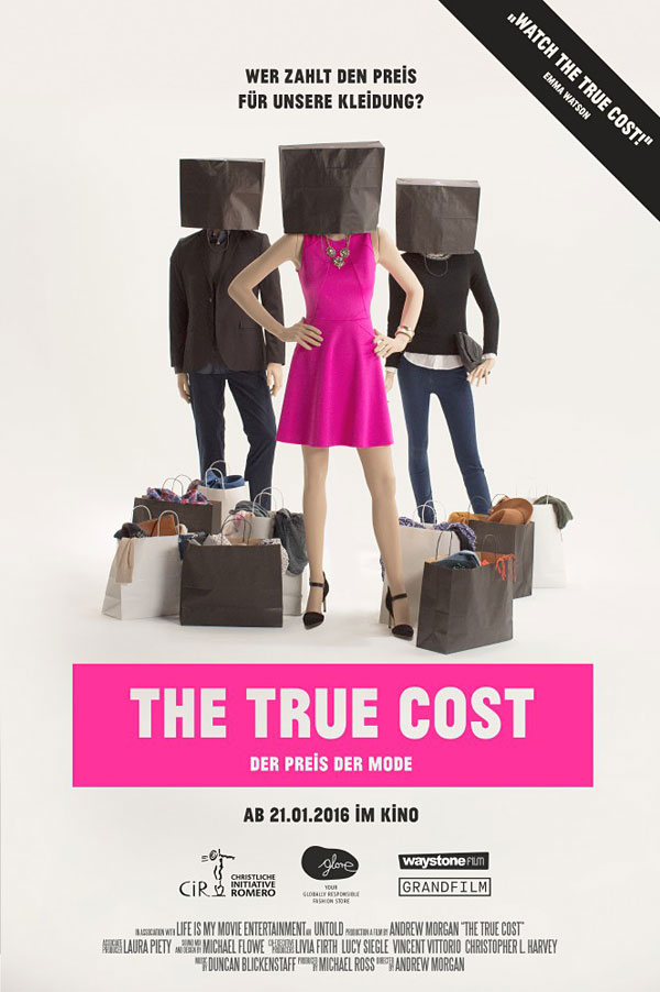 Filmplakat The true Cost/ © GRANDFILM Filmverleih