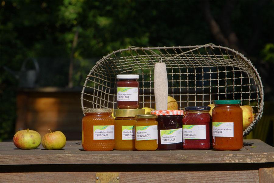 Truderinger Marmelade aus gerettetem Obst