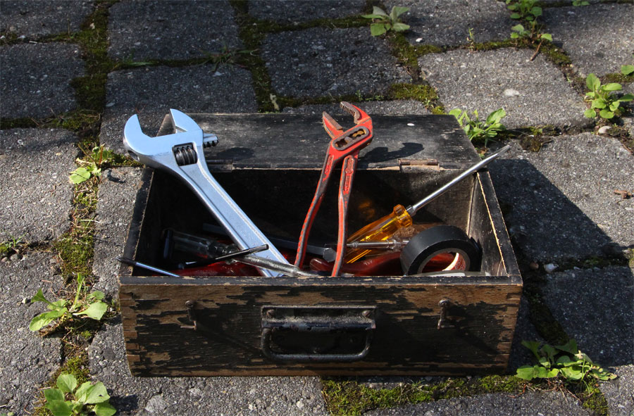 Werkzeuge für das Repair Café